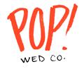 Pop! Wedding Co. Logo