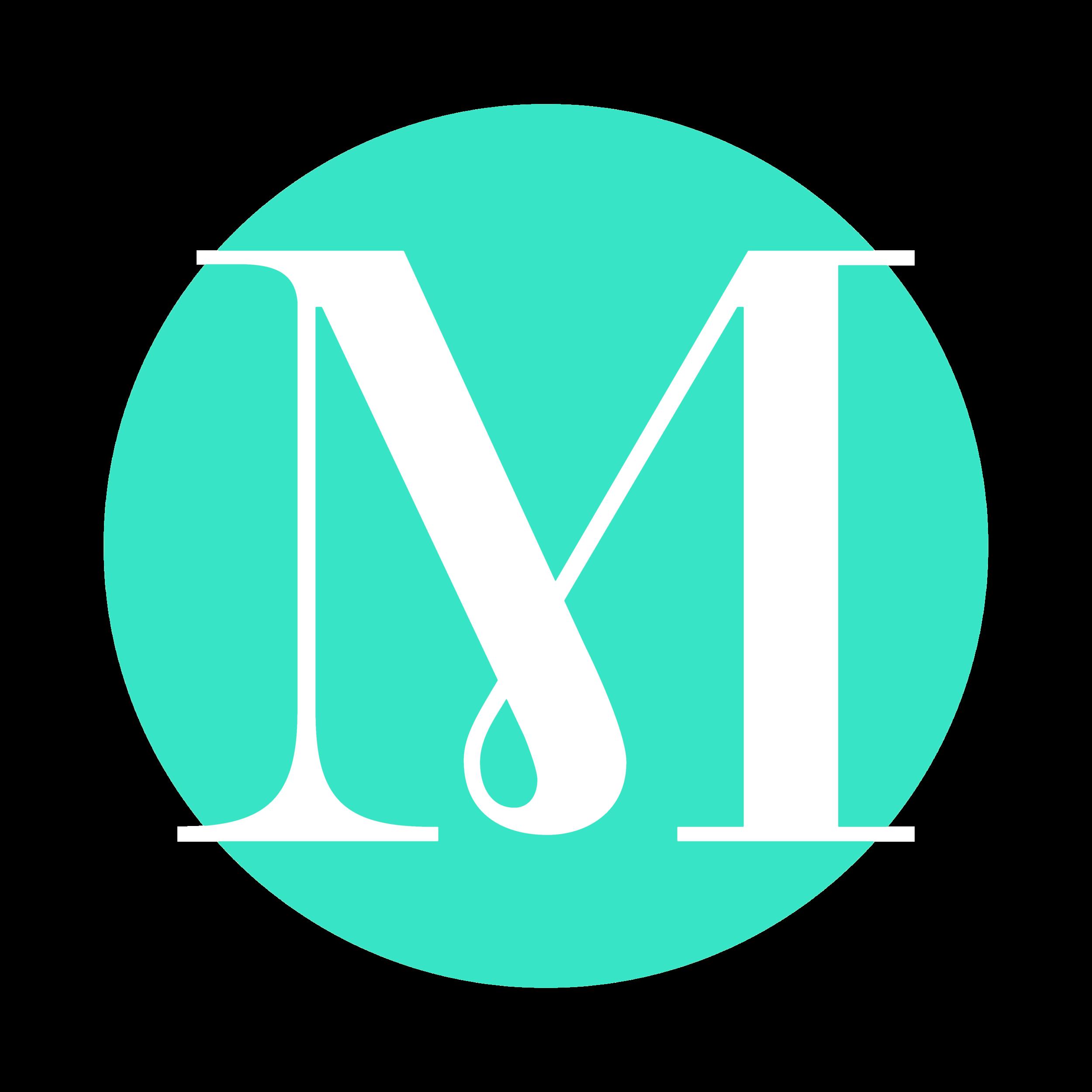 "Menagerie wedding showcase ""m""logo"