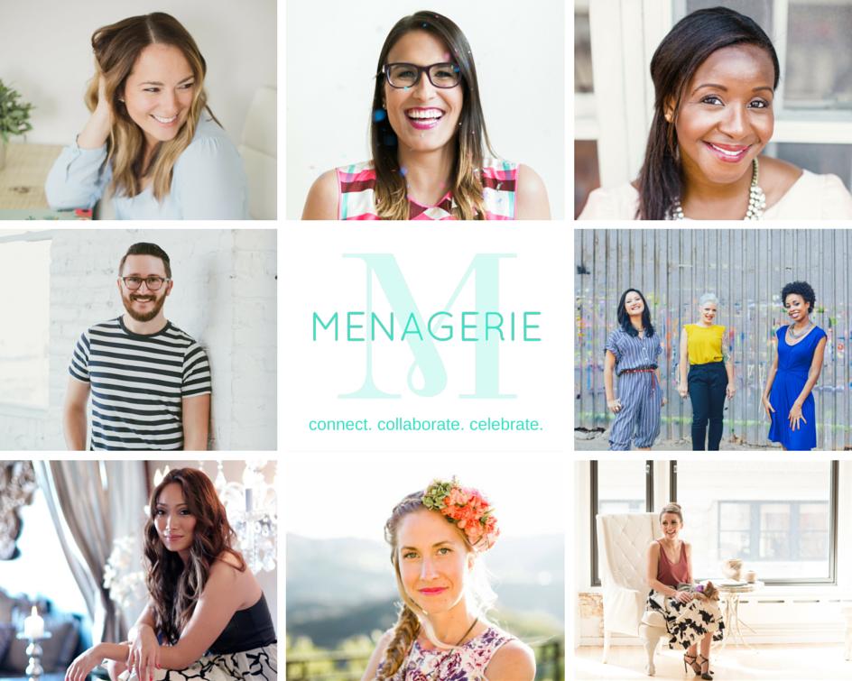 menagerie collaborators collage