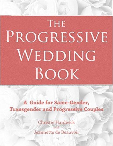 cover of  the progressive wedding book