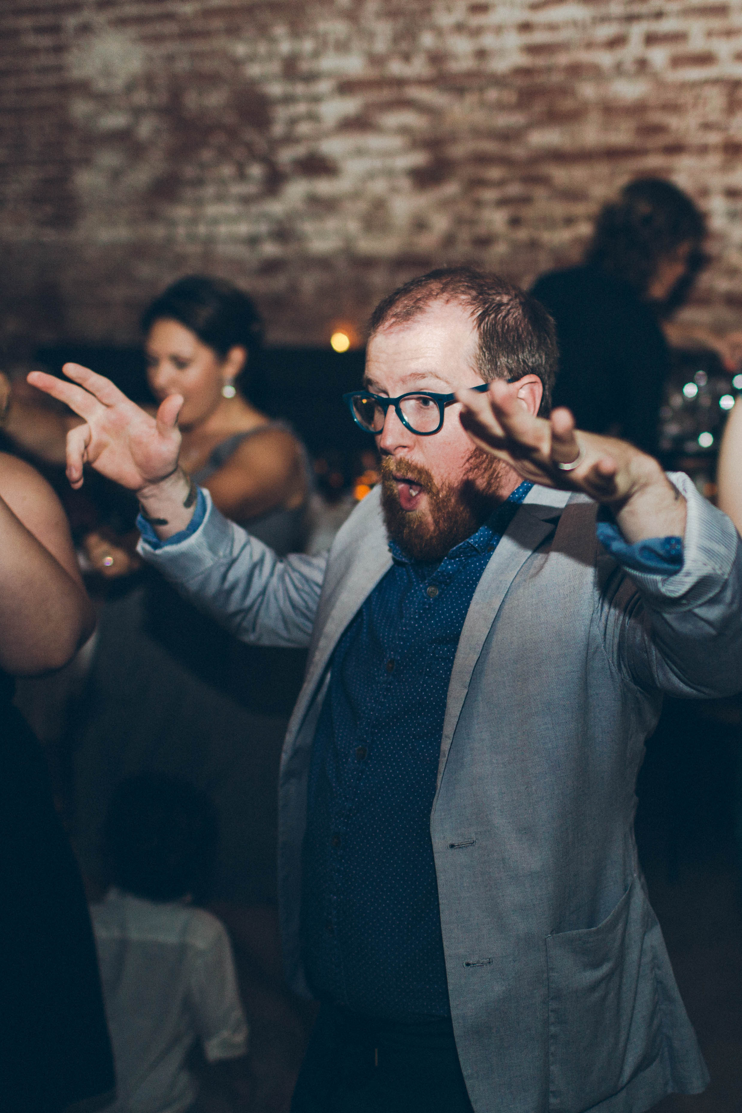 Betty Clicker Wedding Photography dancing