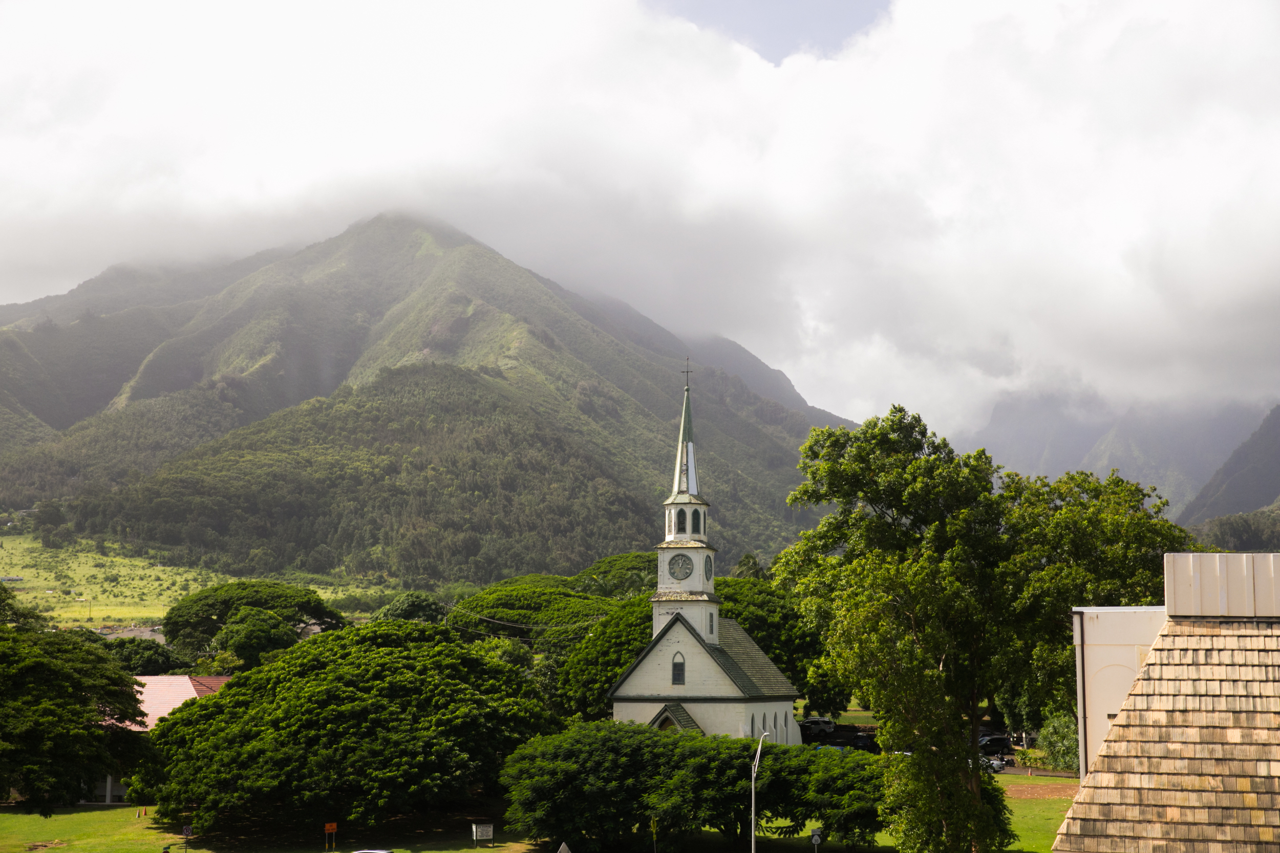 Lisa25 Wedding Photography church with mountains in background