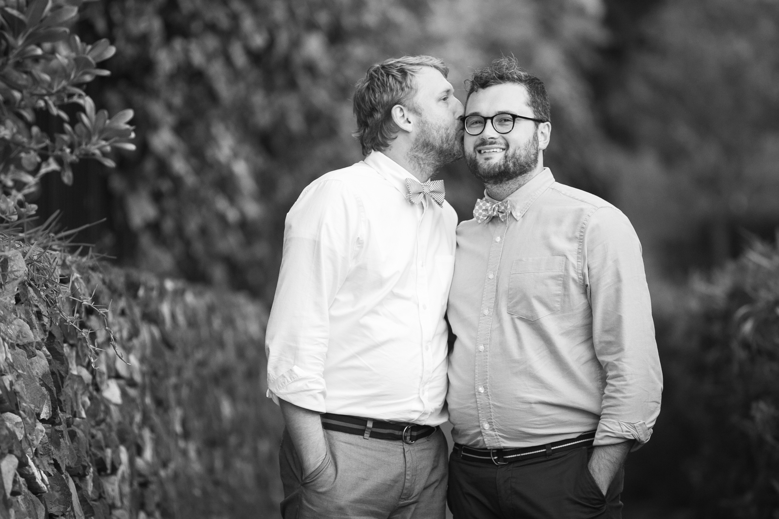 Lisa25 Wedding Photography kiss on cheek
