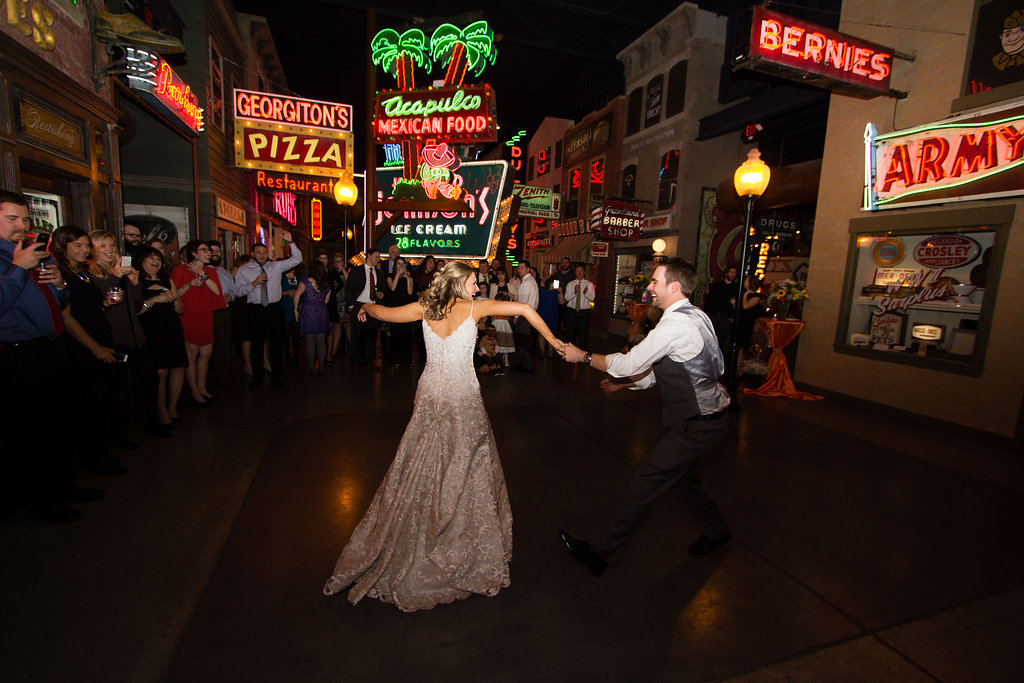 Corey and Alex Larrison Wedding Photography Cincinnati dancing