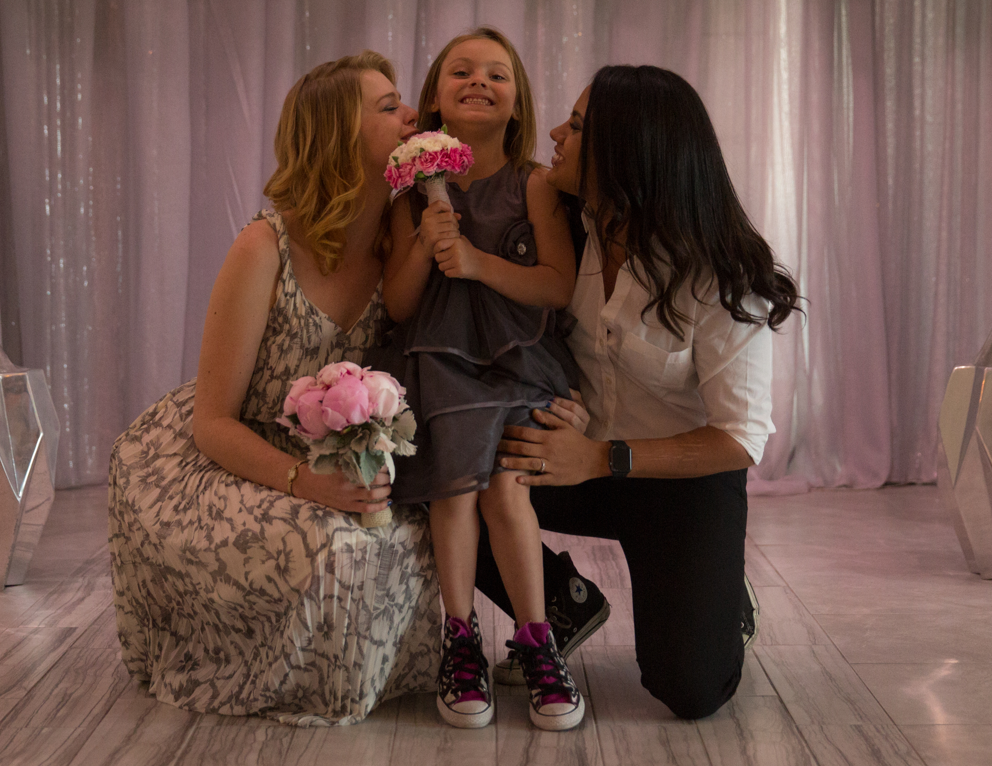 Colleen Stavrakos Wedding Photography brides and flower girl