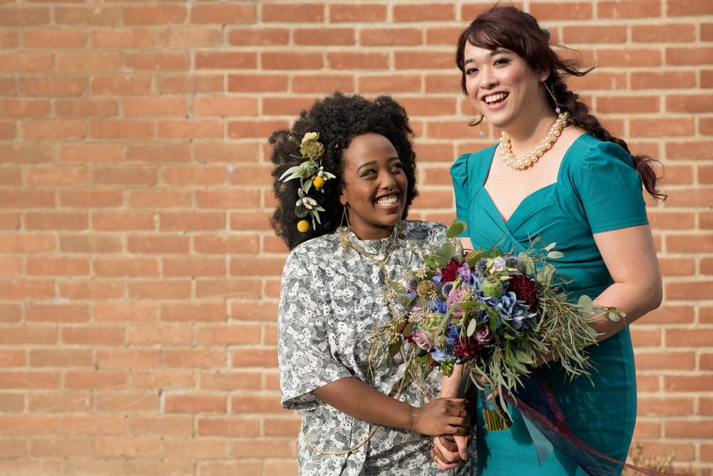 Buffy Goodman Wedding Photography smiling couple