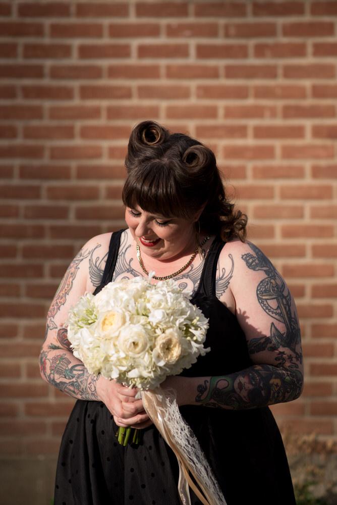 Buffy Goodman Wedding Photography bride with bouquet