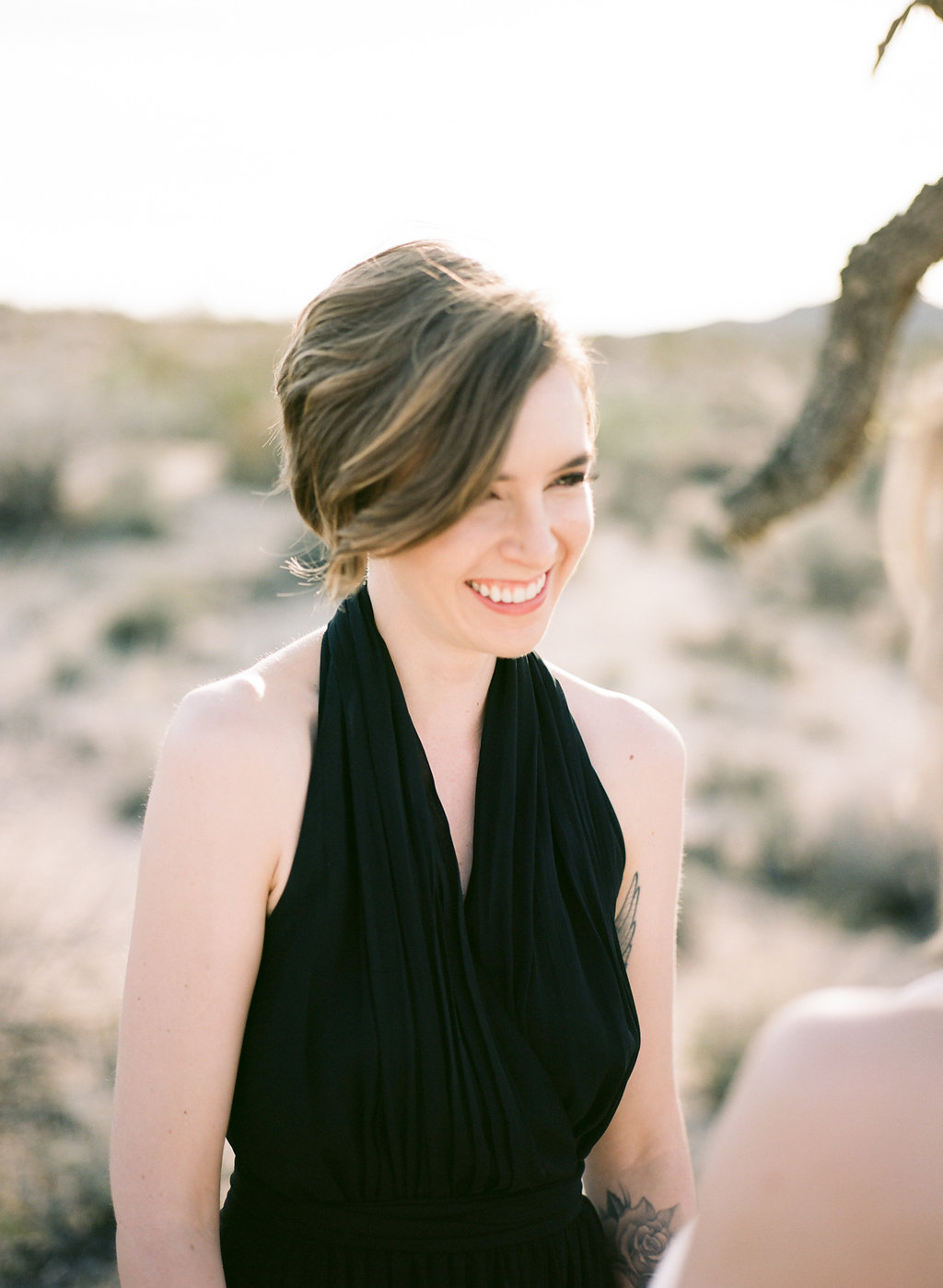 Jessica Schilling Wedding Photography smiling woman
