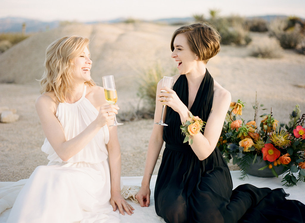 Jessica Schilling Wedding Photography couple enjoying champagne