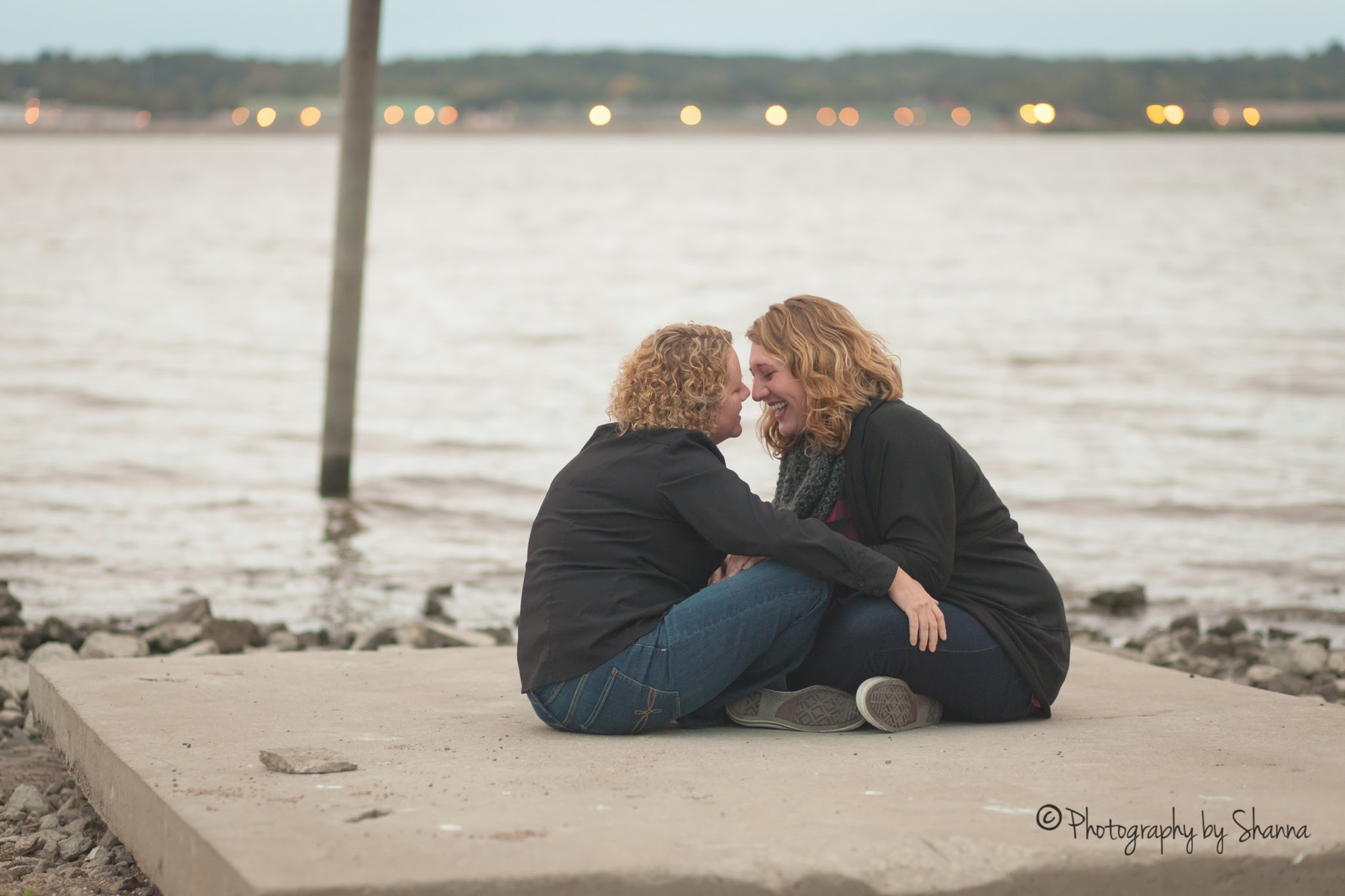 DiAnn & Lauren wedding engagement in Peoria Illinois by Shanna Aitken