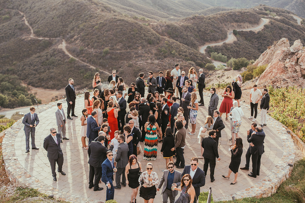 LGBTQ Helicopter pad wedding in Malibu California photographed by Christy Kendall