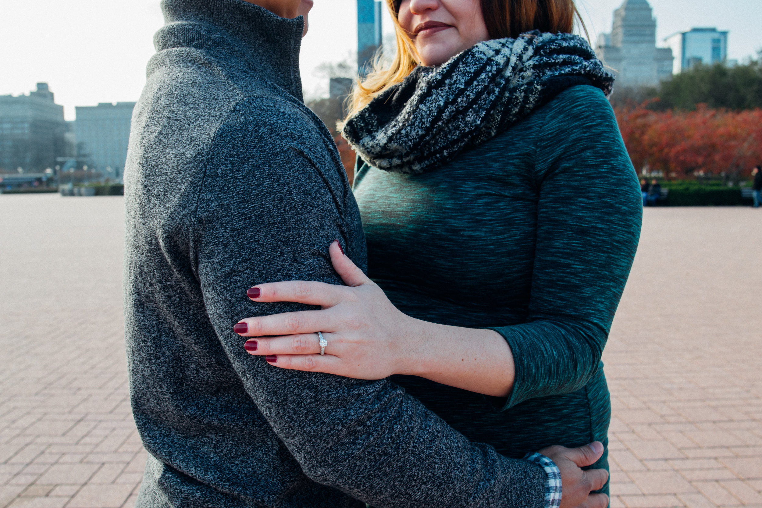 Tiffany Aufman Surprise Wedding Proposal Engagement Maternity Chicago