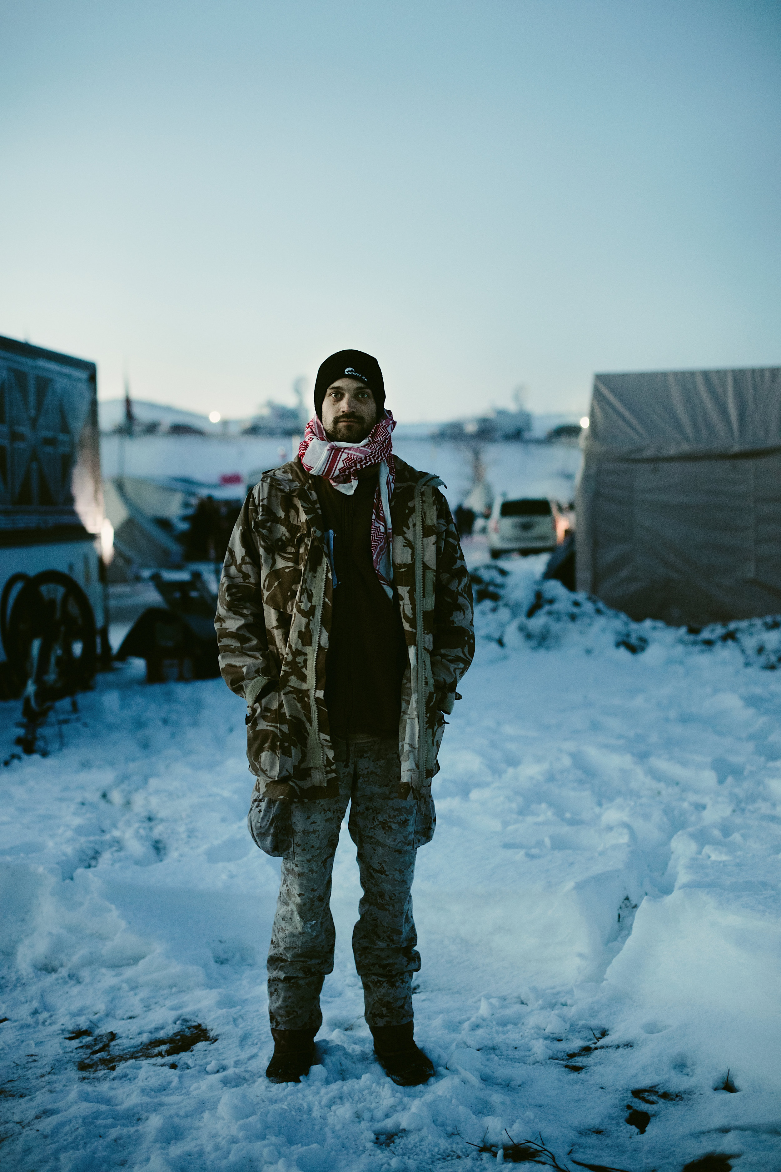 Standing Rock ND protest of DAPL with photos by Ash Carr