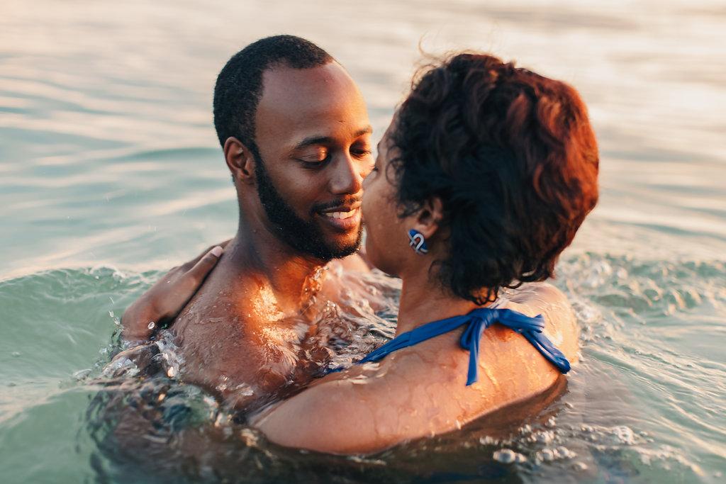 Gulf of Mexico Wedding Anniversary Beach Photography shoot Emily Kirke