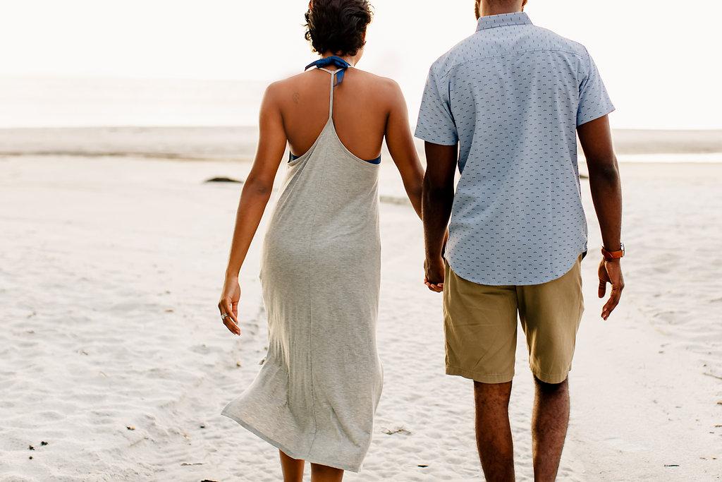 Gulf of Mexico Wedding Anniversary Siesta Key Beach Photography shoot Emily Kirke