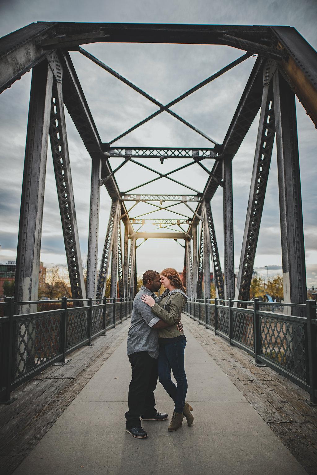 Downtown Denver Colorado Union Station Wedding Engagement Session Suzanne Jakes