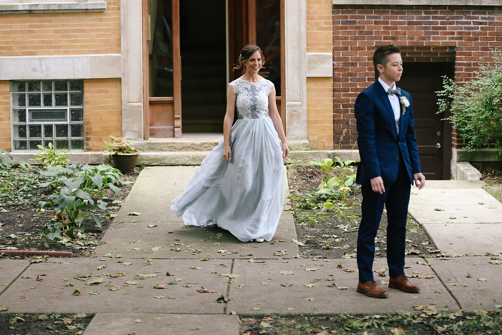Firehouse Andersonville Chicago Illinois Wedding LGBTQ J.Crew