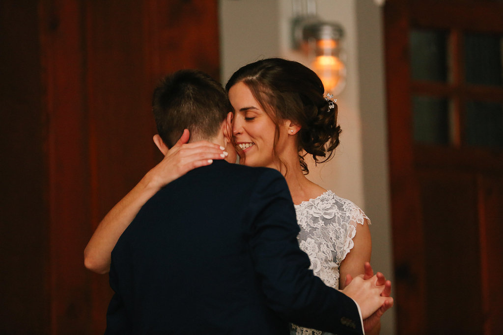 Firehouse Andersonville Chicago Illinois Autumn Wedding Ceremony LGBTQ J.Crew Leah Moyers Photography
