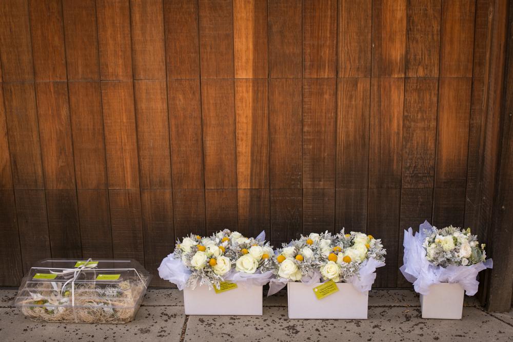 Lesbian Vineyard Wedding Flowers Barn