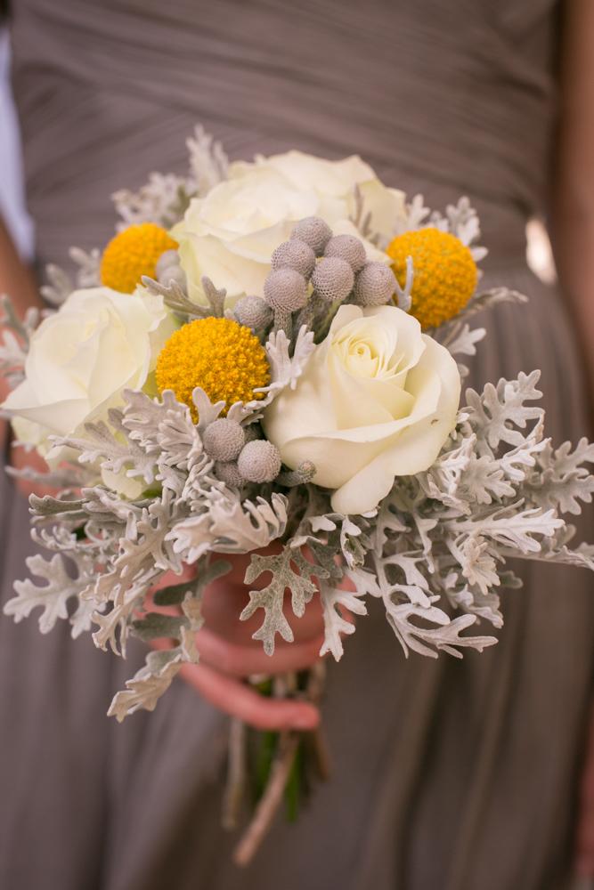 Rustic Flowers Wedding Bouquet