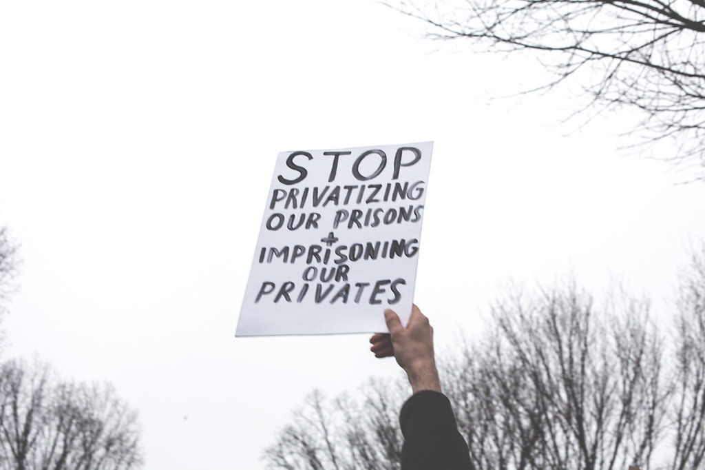 """Women's March on Washington - """"Stop Privatizing Our Prisons and imprisoning our privates"""