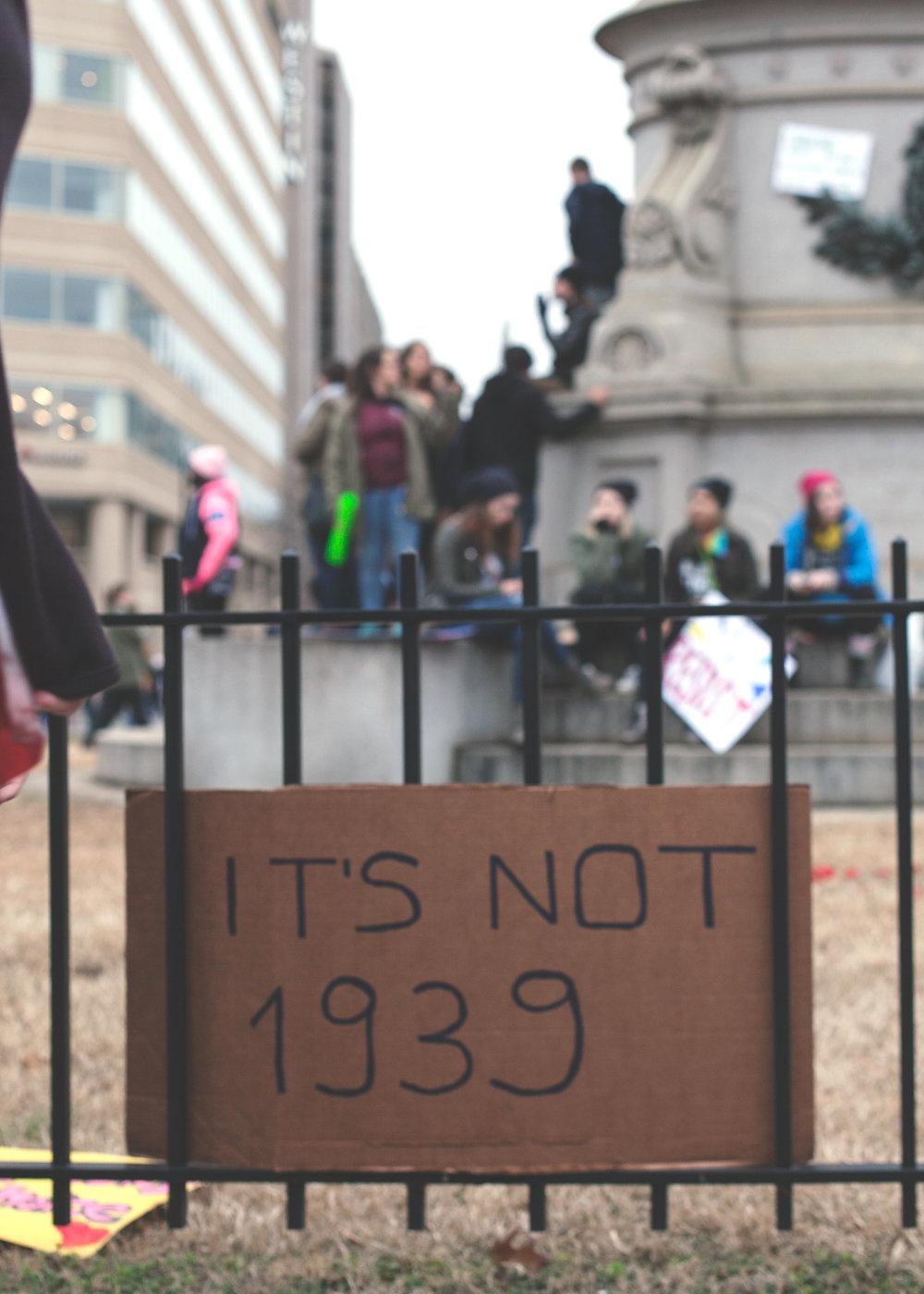 It's Not 1939 Women's March on Washington Zig Metzler