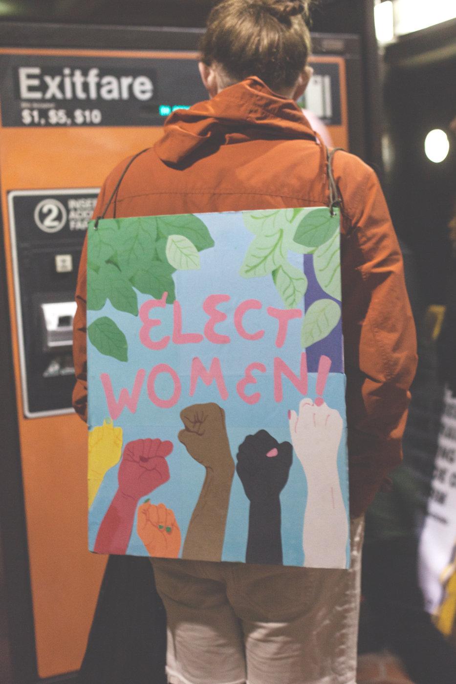 Elect Women -Women's March on Washington Zig Metzler