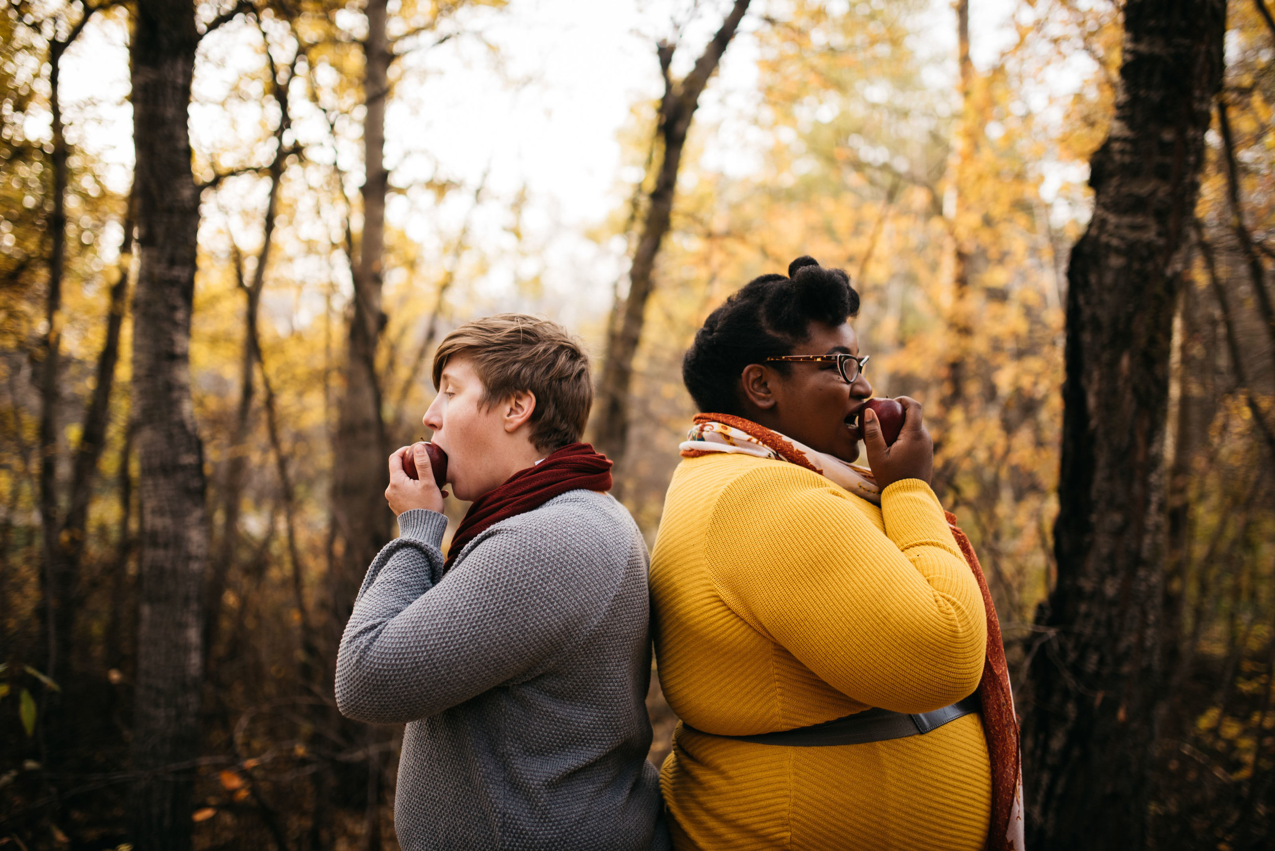 LGBTQ engagement in Edmonton by Box Cube Photography