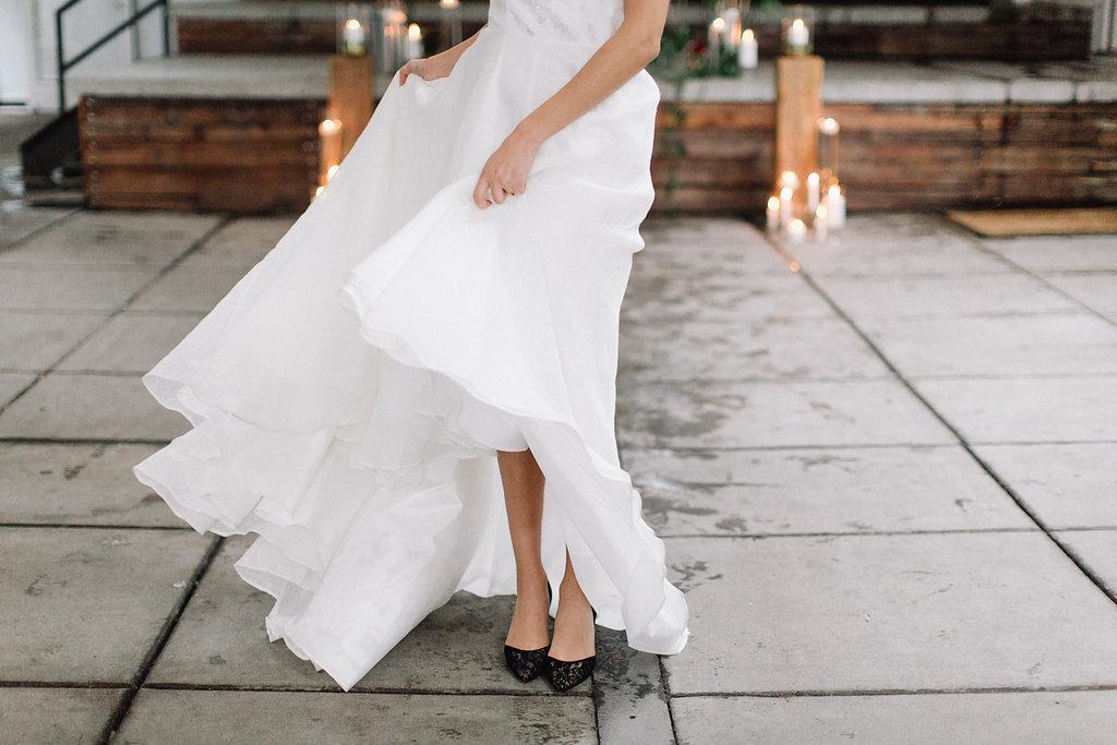 Portland Oregon Classic Modern Wedding Inspiration by Eden Willow Photography