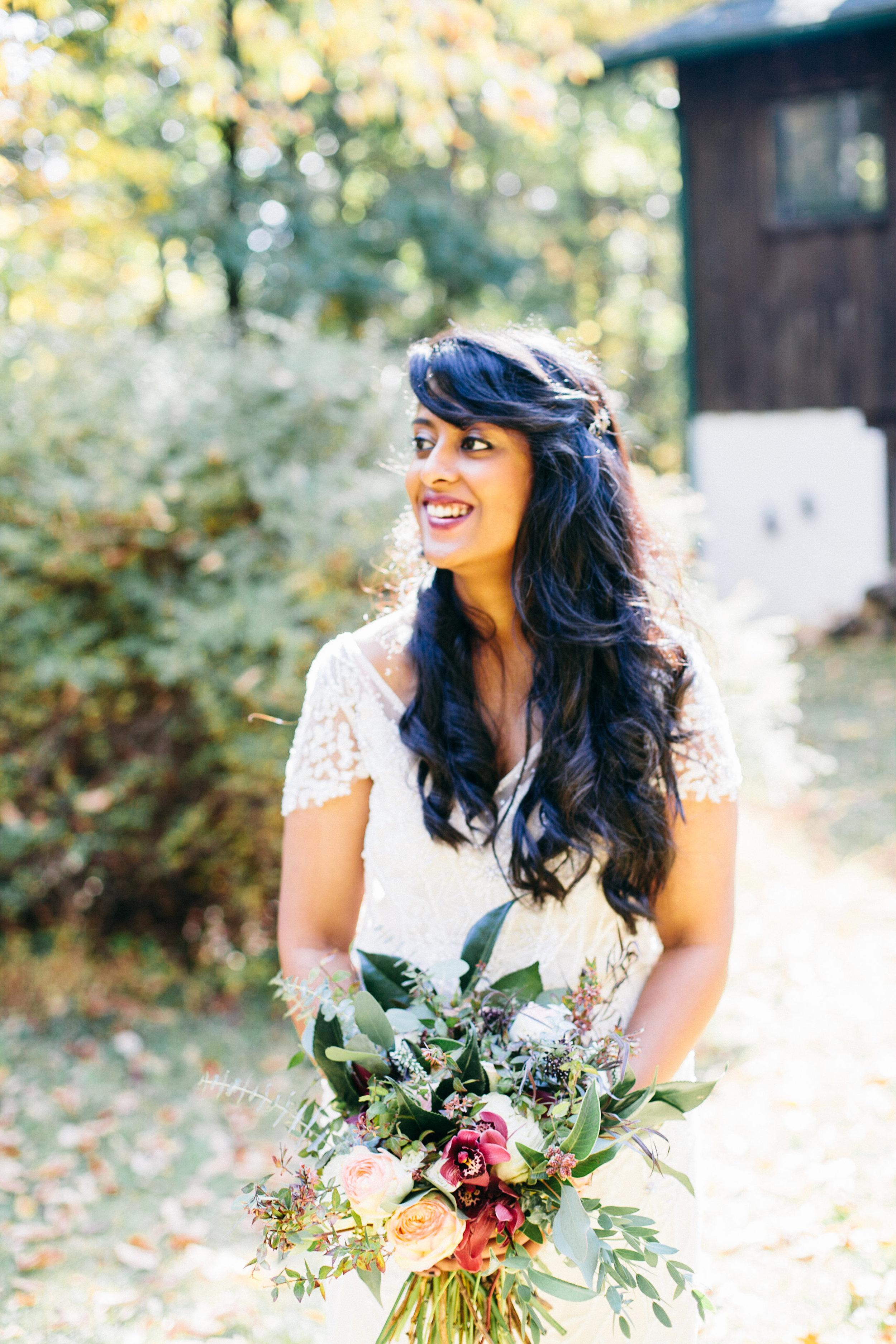 Samantha Lauren Photographie Fall Airbnb Wedding