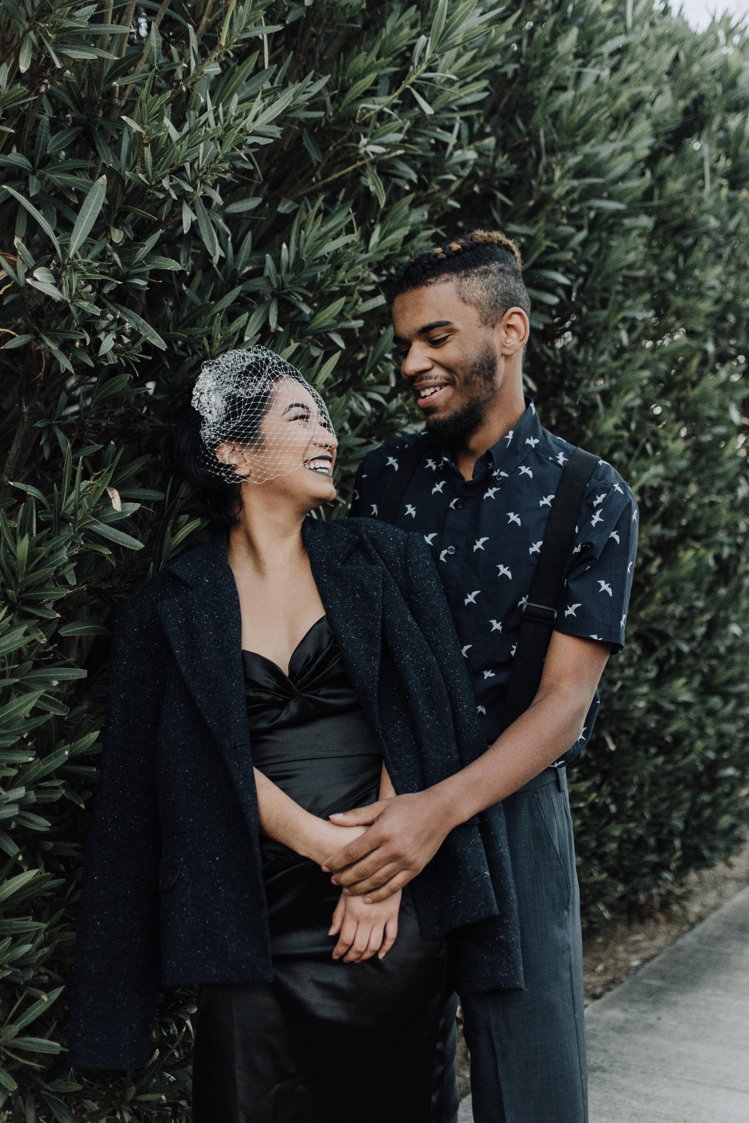 Ska Punk Psychobilly Wedding Elopement Inspiration in the San Francisco Bay Area by Helen Feliciano-Bailey