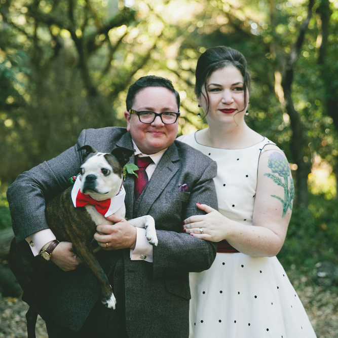 Smashing the Glass Transgender Couple