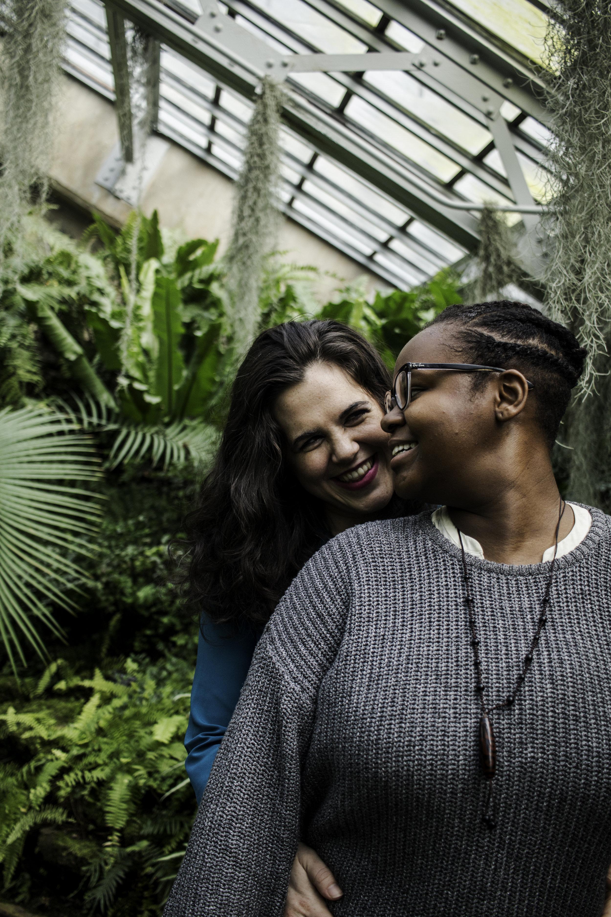 Studio Mosley Greenhouse Lesbian Engagement