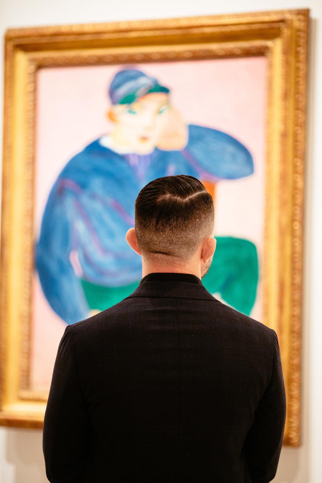 Cinder & Co. MOMA Surprise Engagement New York