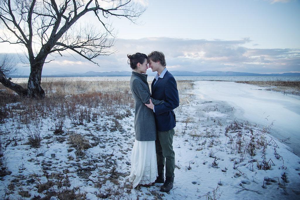 Julia Luckett Winter Solstice Elopement Vermont