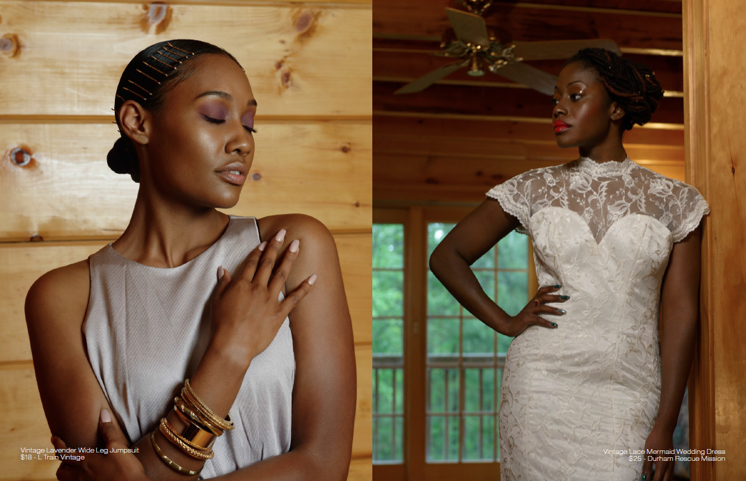 Black BeauTEA Talk Silk Lace Bridal Shoot by Brittney Taylor