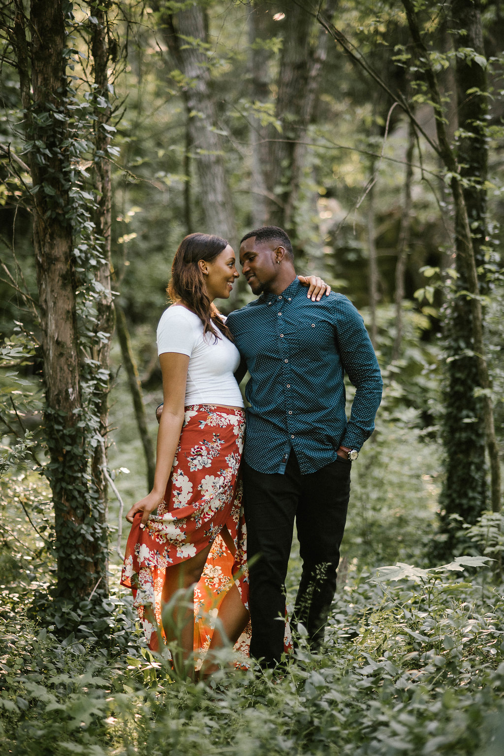 Coral Dove Knoxville Engagement Session