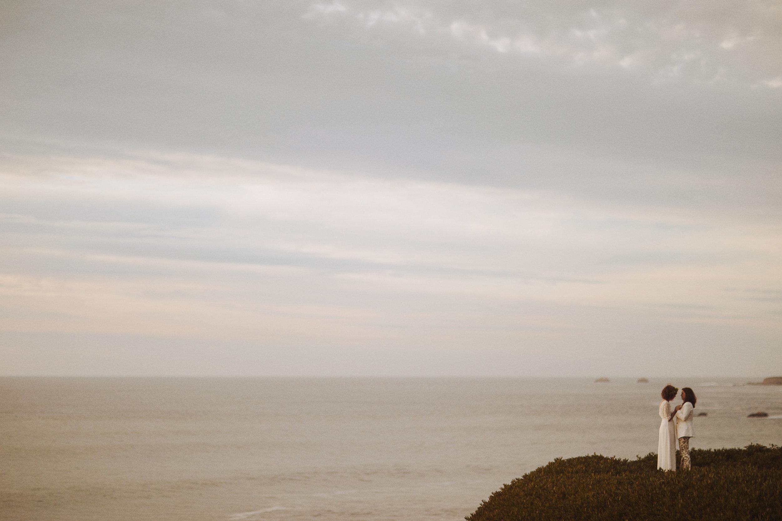 Nessa K Elopement Carmel by the Sea