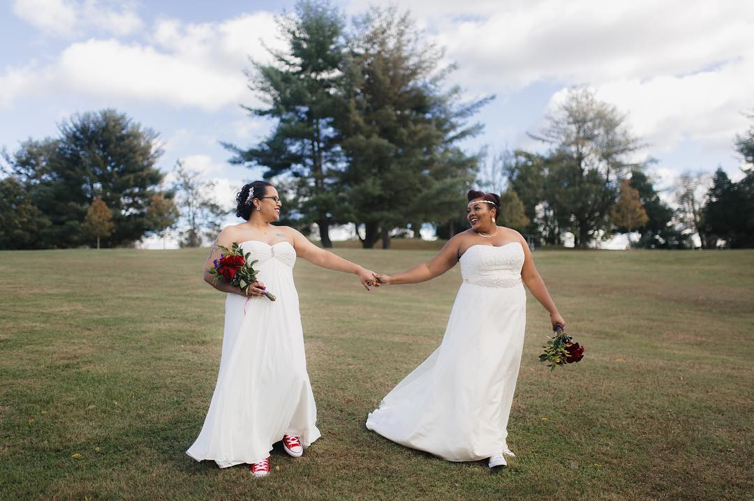 shae and Melissa's wedding photos by Imani Fine Art Photography