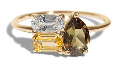 Andalusite Cluster Ring  by  Bario Neal