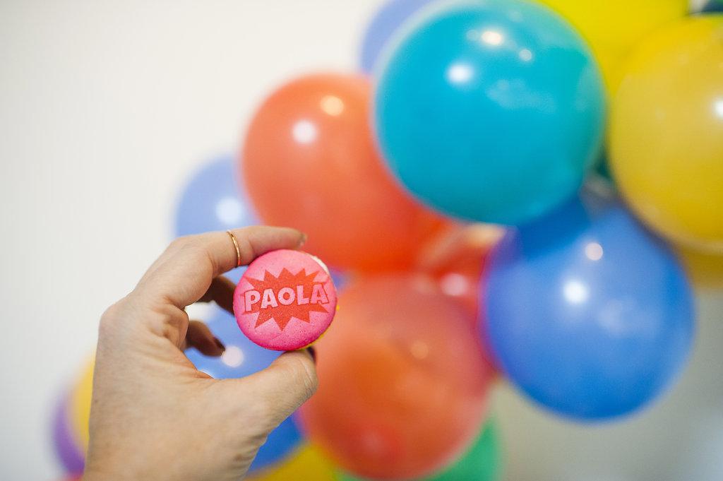 Michelle Bablo Hell Yes Design Drag Pop Art Baby Shower
