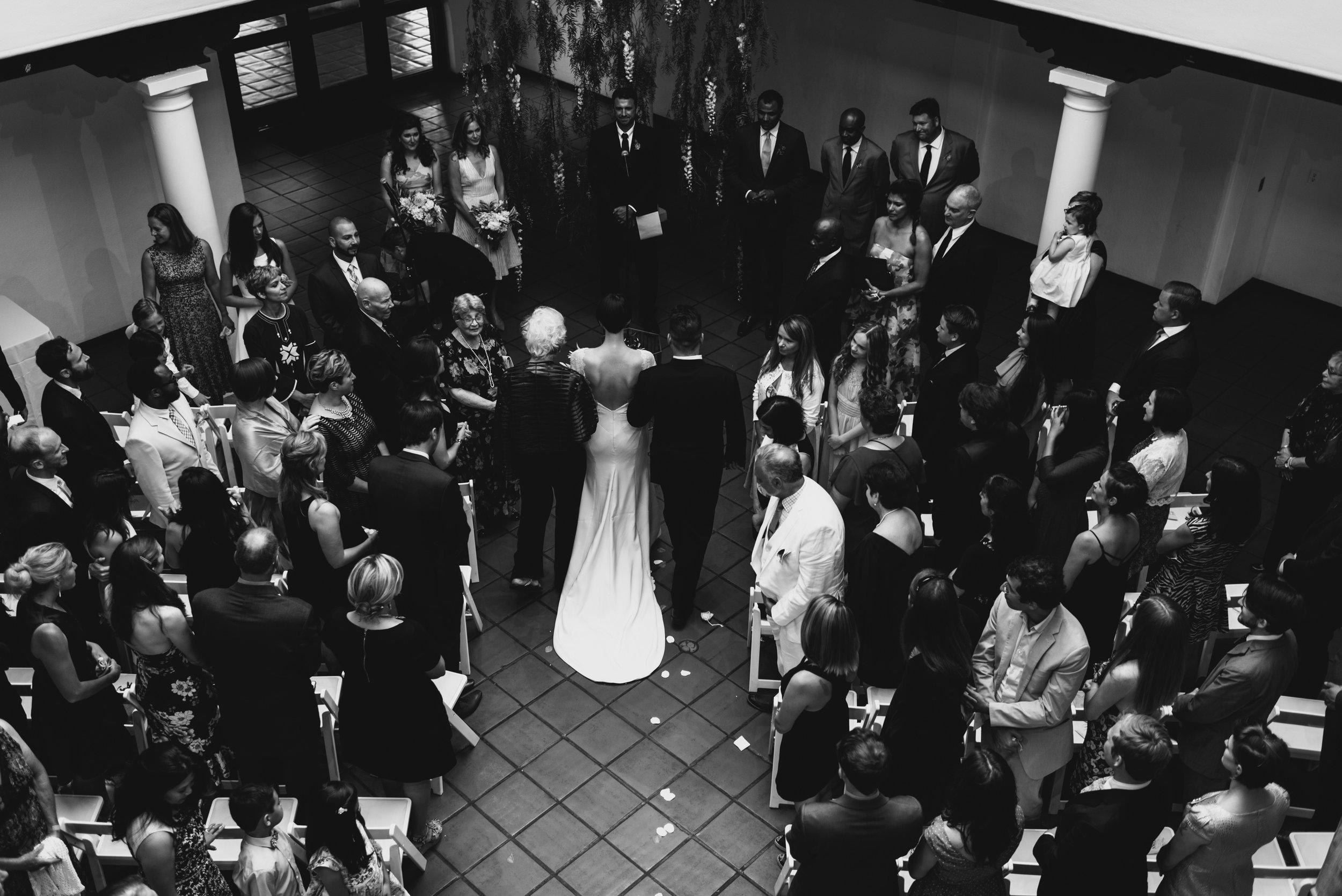 Mod Minimalist Wedding in LA by Moxie Bright Events & Clarkie Photography