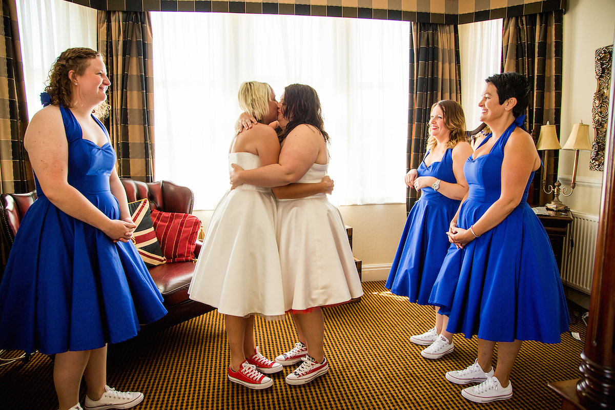 Yorkshire LGBTQ Wedding by Becky Bailey Photography
