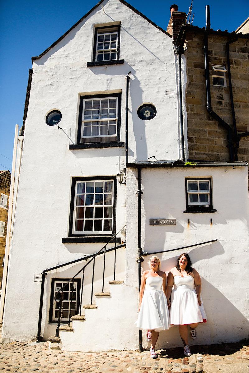 Yorkshire Lesbian LGBTQ Wedding by Becky Bailey Photography