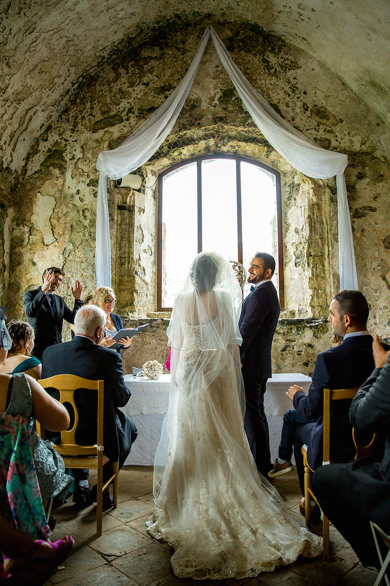 Castle Wedding in South Wales by Becky Bailey Photography