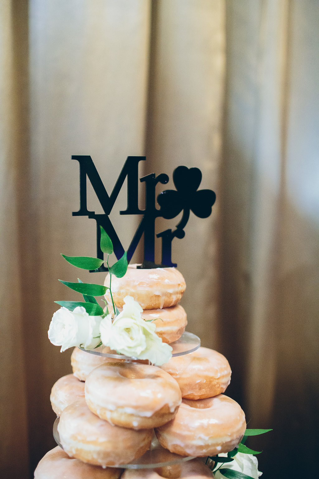 Mr. and Mr. cake topper