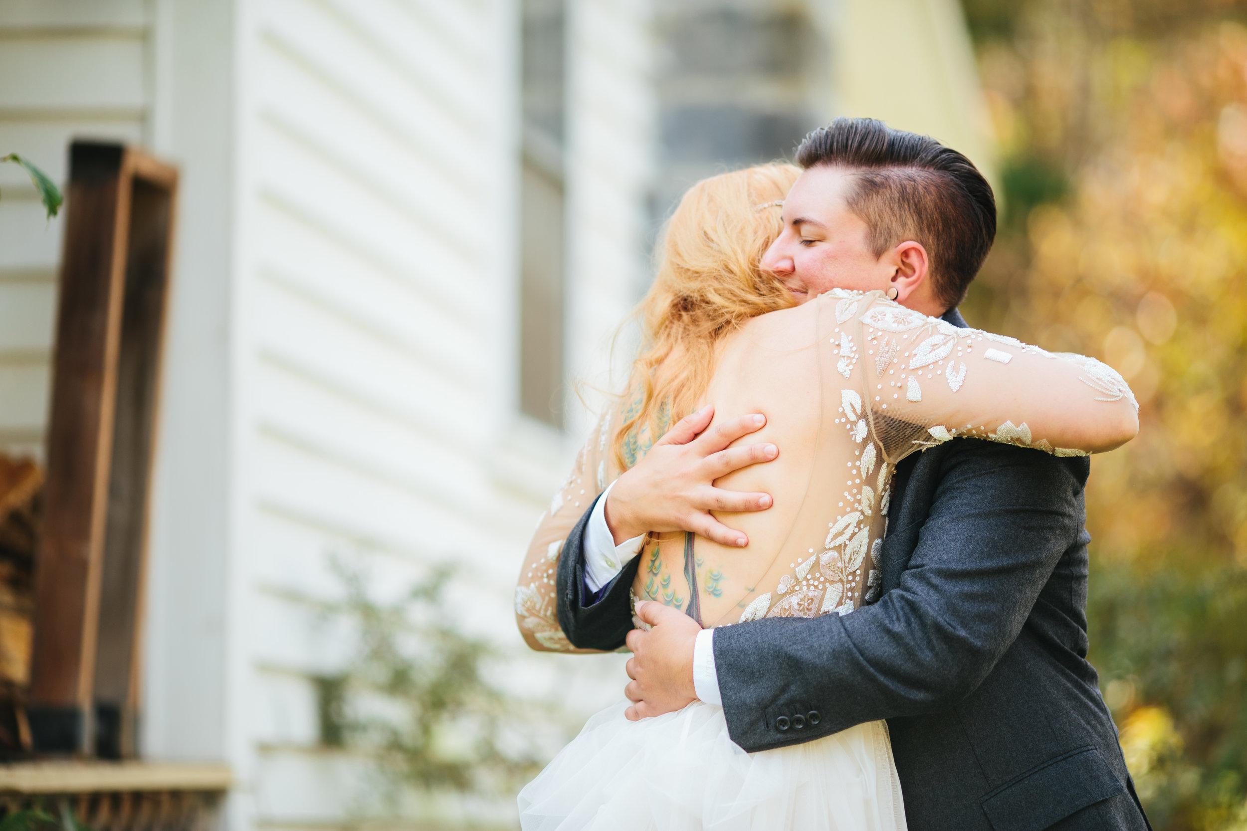 Alex Bee Photo LGBTQ Appalachian Autumn Wedding