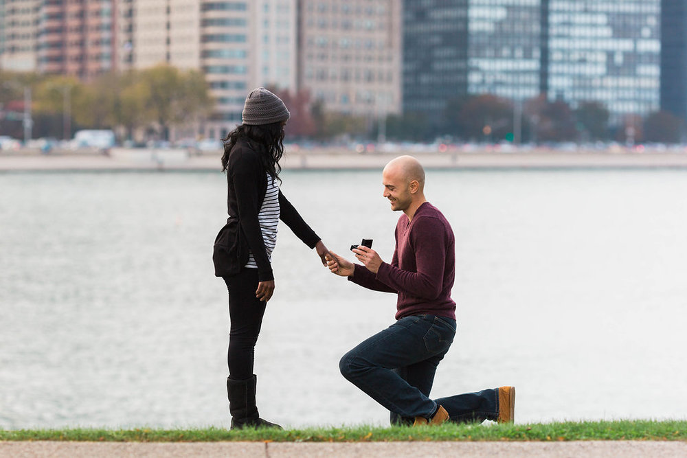 Proposal photo by Jennifer Claire Photography