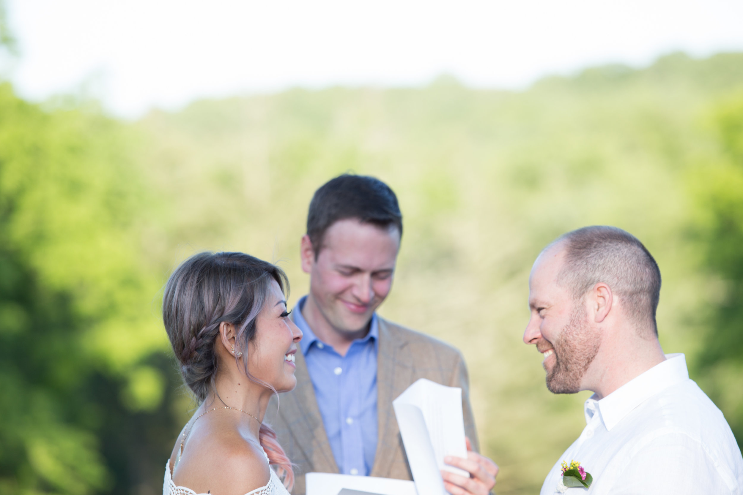 backyard wedding by Kara Wright and Taylor and Hov Events
