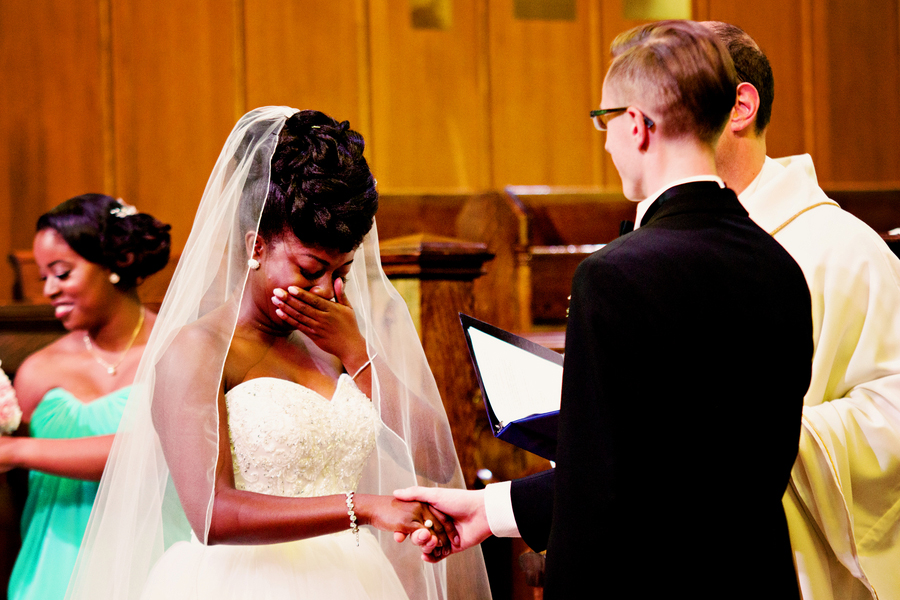 Interracial Wedding in Edmonton Alberta Canada with African and Caribbean Flare by Daphne Chen Photography